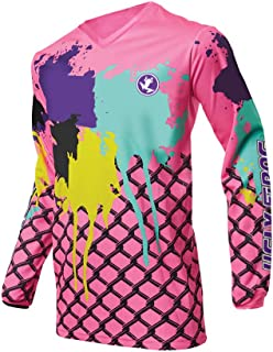 Uglyfrog Mens Downhill Jersey Rage MTB Bicycle Tops Cycle Long Sleeve Motocross Mountain Cycling Jersey