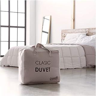 Barceló Hogar 07050040215 Relleno nórdico bicolor, modelo Clasic-Duvet, beige, 150 x 220 (90 cm)
