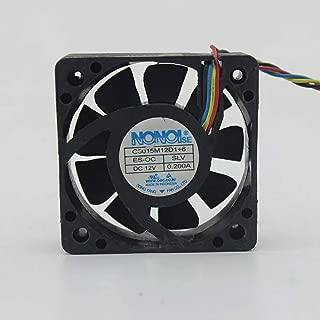 For NONOISE G5015M12D1 + 6 12V 0.200A car audio cooling fan 5015