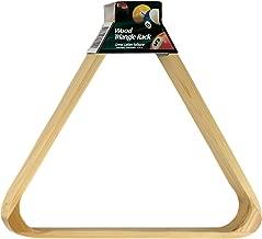 Viper Billiard/Pool Table Accessory: 8-Ball Rack, Hardwood Triangle, Holds Standard 2-1/4