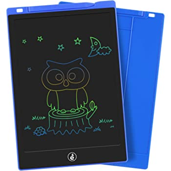 Color : Blue, Size : 10.5 inches HANXIAODONG Electronic Doodle Pads Drawing Board Childrens LCD Tablet 10.5 Inch Partially Rewritable Graffiti Board Environmentally Friendly Drawing Board