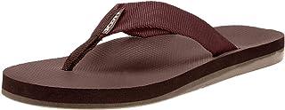 Scott Hawaii Manaula Sandals for Men, Neoprene Lined Flip Flops, No Slip Sole with Arch