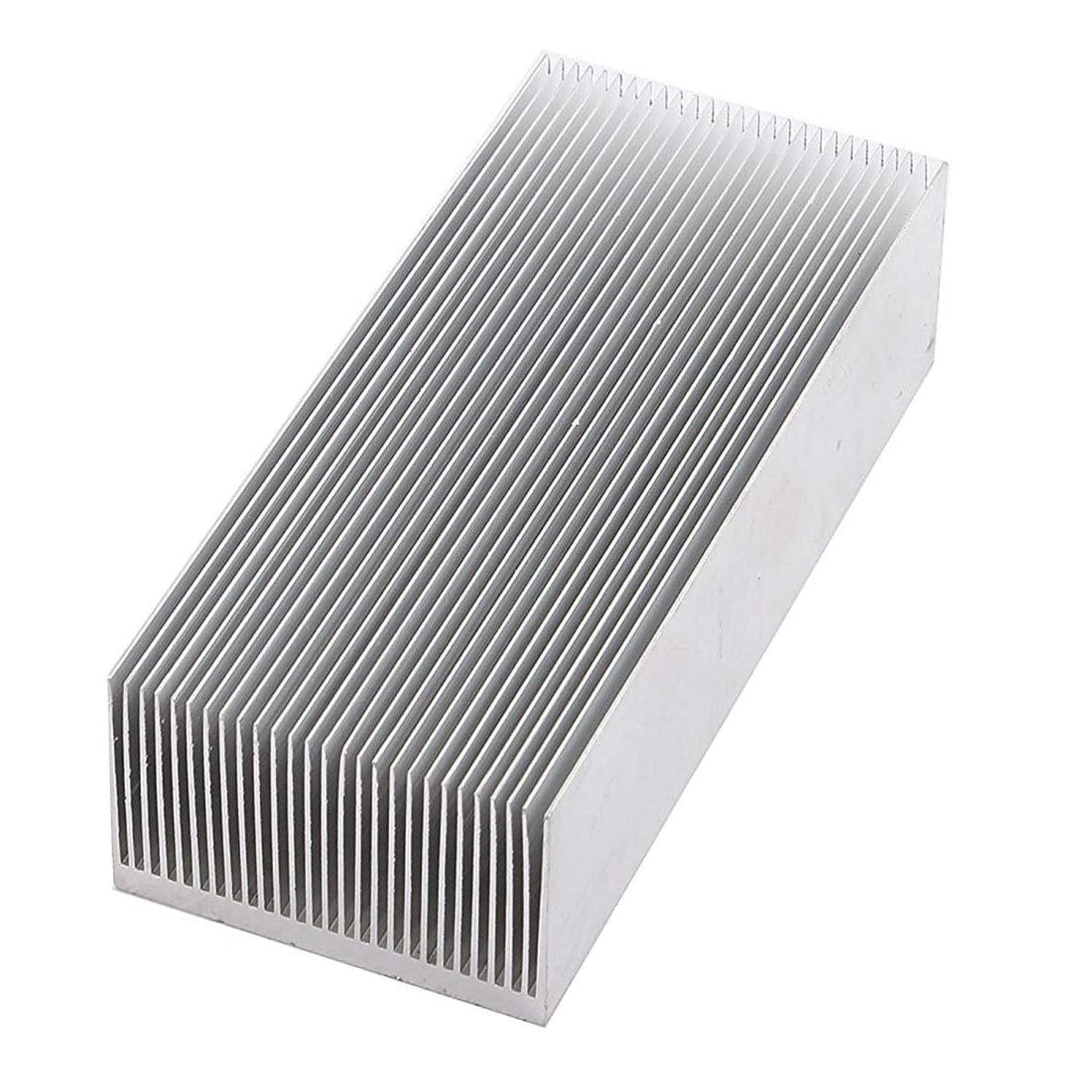 Ants-Store - Aluminum Heat Radiator Heatsink Cooling Fin 150x69x37mm Silver Tone