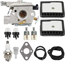Trustsheer WT-589A Carburetor fit Echo CS-300 CS-301 CS-305 CS-306 CS-340 CS-341 CS-345 CS-346 CS-3000 CS-3400 CS-3450 Chainsaws Walbro WT-589 WT-402 Carb A021000230 A021000231 A021000232 A021000760