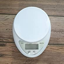 Sanwooden Precise Electronic Scale 5Kg/1G Mini Home Kitchen Precise Electronic Scale Food Weighing Balance Tool Digital Scale
