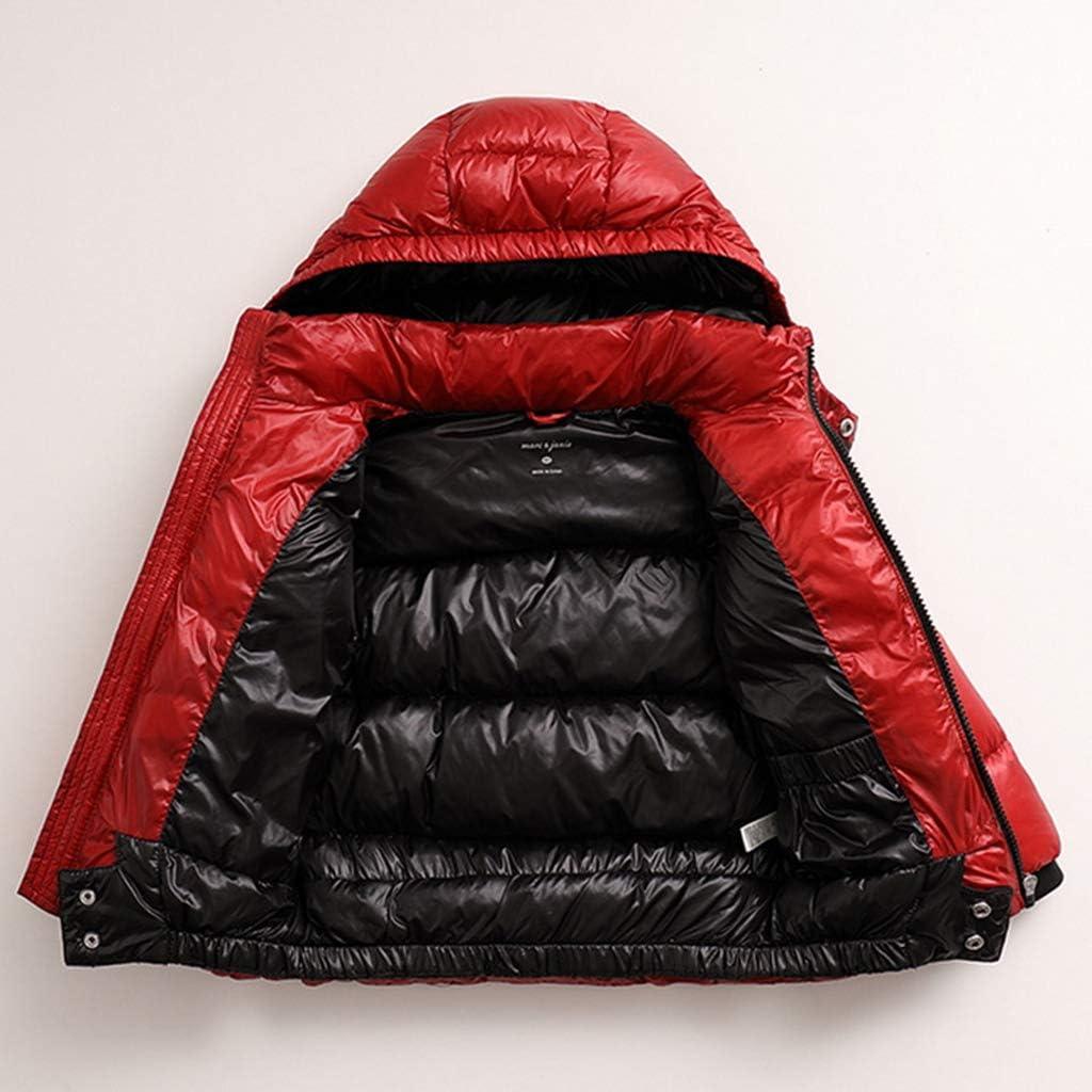 marc janie Boys Winter Thick Ultra Light Down Puffer Jacket
