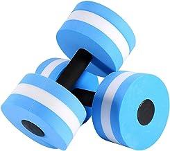 EVA Water Aerobics Halter, Aquatic Barbell, Aqua Fitness Zwembad Oefening, Lichtgewicht Compact Hoog Drijfvermogen, Voor K...