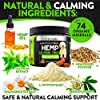FurroLandia Hemp Calming Treats for Dogs - 170 Soft Chews - Made in Usa - Hemp Oil for Dogs - Dog Anxiety Relief - Natural Calming Aid - Stress - Fireworks   Aggressive Behavior (Bacon Flavor) #2