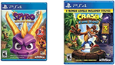 Spyro Reignited Trilogy - PlayStation 4 & Crash Bandicoot N. Sane Trilogy - PlayStation 4