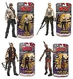 McFarlane Toys The Walking Dead Comic Book Series 3 Set of 4 Action Figures: Rick Grimes / Andrea / Dwight / Punk Rock Zombie