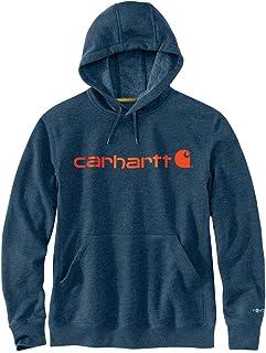 Carhartt Men`s Force Delmont Signature Graphic Hooded Sweatshirt