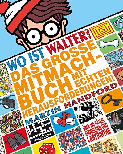 Wo ist Walter? Das große Mitmachbuch mit echten Herausforderungen: Activity-Buch