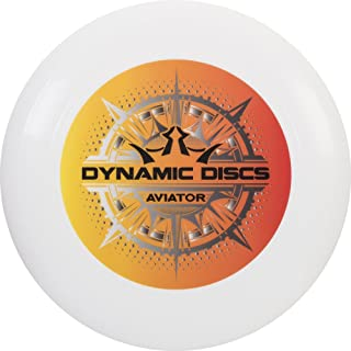 Dynamic Discs Aviator Ultimate Disc | 175g Ultimate Frisbee | Consistent and Predictably Flying Ultimate Frisbee Disc