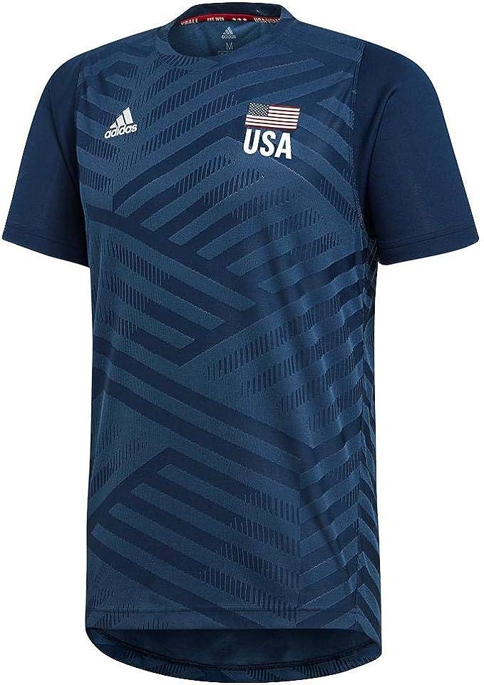 adidas Men's USA Volleyball Replica Tee