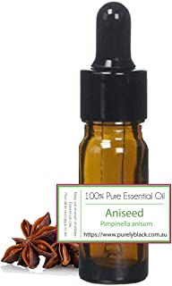 Undiluted Pure Aniseed Essential Oil [ Pimpinella Anisum ] Aromatherapy, Aroma Oil 10ml