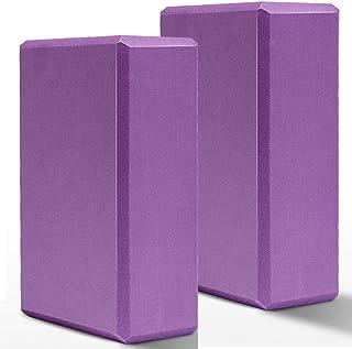 """日本市場で強力 HAPEEヨガブロック2ピース高密度9 """"x 6"""" x 3 """"ヨガブロック"""