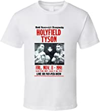 Mike Tyson vs Evander Holyfield Boxing Fight T Shirt