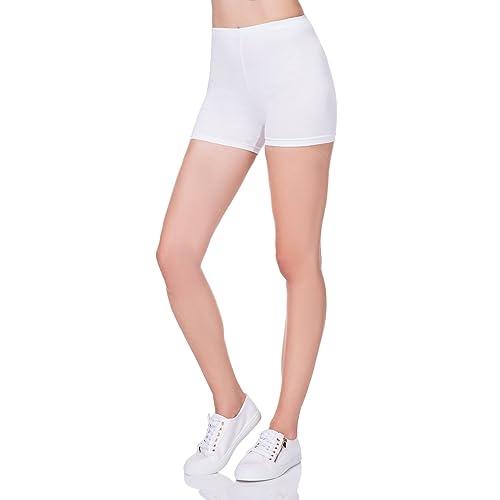Futuro Mode Super Doux Coton Short élastique Stretch Yoga Culotte UK 8–22  Psl5 01c901de653