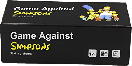 Cards Game Against Simpsons - Contains 600 Cards