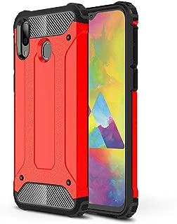 جراب LAGUI متوافق مع هاتف Samsung Galaxy M20، جراب احترافي مزدوج الطبقات مضاد للتصادم. Samsung Galaxy M20