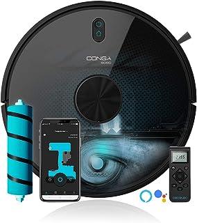Cecotec Robot Aspirador y fregasuelos Conga 6090 Ultra. Láser, Potencia succión 10000 Pa, App, Sensor Óptico, Virtual Voic...