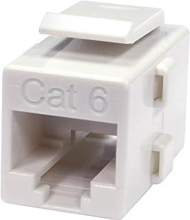 Steren Keystone Cat6 in Line Coupler - White (310-043Wh)