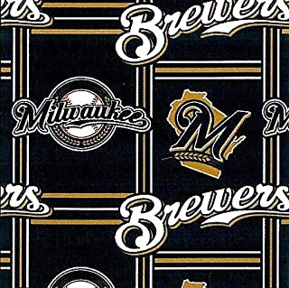 milwaukee brewers fleece fabric