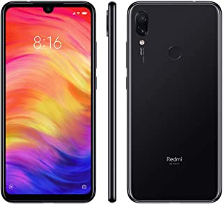 Xiaomi Redmi Note 7, 64GB/4GB RAM, 6.30`` FHD+, Snapdragon 660, Black - Unlocked Global Version