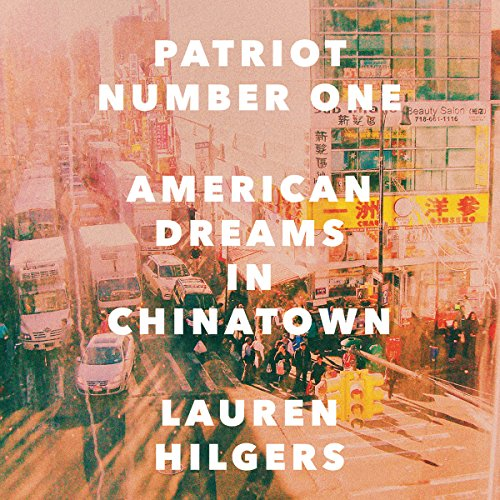 Patriot Number One audiobook cover art