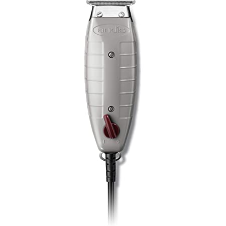Andis 04710 Professional T-Outliner Beard/Hair Trimmer with T-Blade, Grey