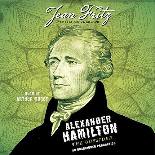 Alexander Hamilton: The Outsider audiobook cover art