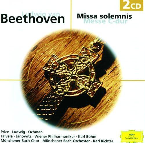 Margaret Price, Gundula Janowitz, Christa Ludwig, Wieslaw Ochman, Martti Talvela, Münchener Bach-Chor, Münchener Bach-Orchester, Wiener Philharmoniker, Karl Böhm & Karl Richter