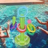 Wood.L Aufblasbares Ringwurfspiel, Wurf-Wasser-Spielwaren Stellten Sich Schwimmenden...