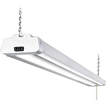 Lithonia Lighting 4 ft 36-Watt Natural Aluminum Integrated LED Shop Light