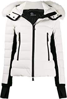 MONCLER Luxury Fashion Womens 453602553861041 White Down Jacket | Fall Winter 19
