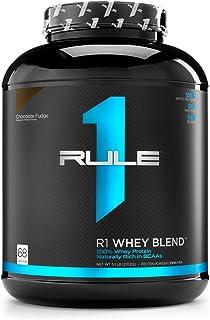 Rule One Proteins R1 Whey Blend, Rule 1 Proteins (Chocolate Fudge, 68 Servings)