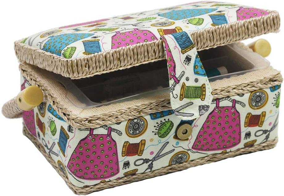 Samll Sewing Basket Organizer New In a popularity arrival with Mini f Kit Accessories