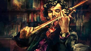 Arts and Crafts for Adults Adult Paint by Numbers Kits, Violin Musician Oil Painting by Number Oil Paint Set Gift Painting...