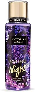 Victoria's Secret Love Spell Night Fragrance Mist Spray 8.4 Ounce Retired Scent