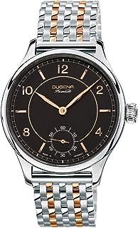 Dugena - 7090115 - Reloj para Hombre, automático, analógico, Correa de Acero Inoxidable, Color Plateado