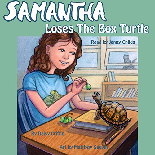 Samantha Loses the Box Turtle audiobook cover art