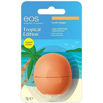 EOS Tropical Edition Exotic Mango Smooth Sphere Lip Balm, 7 g: Amazon.es: Belleza