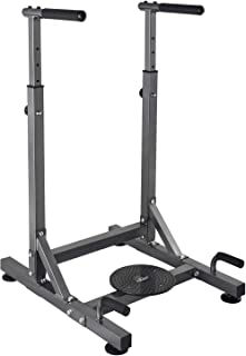 RELIFE REBUILD YOUR LIFE Dip Station Power Tower Exercise Training Parallel Bar Ab Workout Sports Equipment Dip Stands for Home Gym