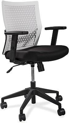 Lorell Flex Back Task Chair, White