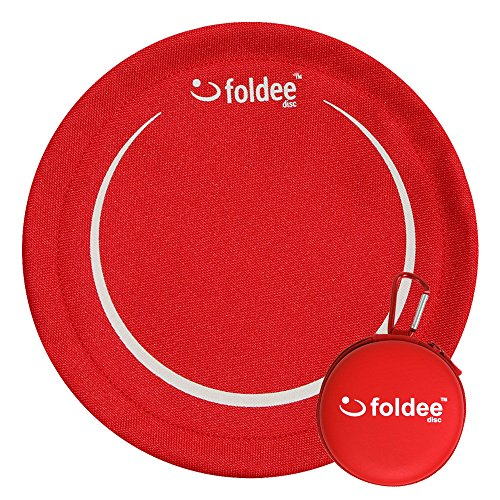 Foldee (フォールディー) ソフト フライング ディスク おもちゃ レッド
