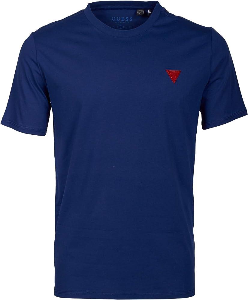Guess,maglietta,t-shirt per uomo,100% cotone F02I01JR03D-FLYL-S