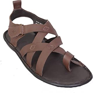 MARDI GRAS Men's Leather SANDAL-5662
