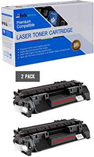 Inksters Compatible Toner Cartridge Replacement for HP 80A (CF280A) Black - Compatible with Laserjet Pro 400 M401A M401D M401DN M401DW M401N M425DN M425DW (2 Pack)