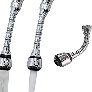 Newcomdigi Flexible Faucet Sprayer Turbo Flex 360 Sink Faucet Sprayer Jet Stream