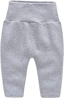 Fairy Baby Infant Baby Unisex Cotton High Waist Bottom Elastic Legging Long Pant